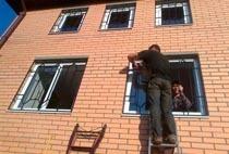 Монтаж решеток в Бердске