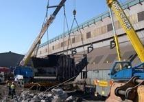 Демонтаж конструкций из металла в Бердске