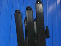 монтаж металлические столбы в Бердске